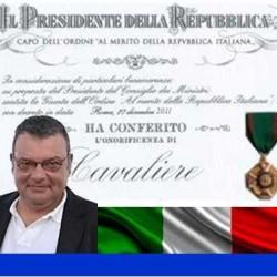 Pier Luigi Bartoletti insignito dell'onorificenza di Cavaliere dell'Ordine al merito della Repubblica